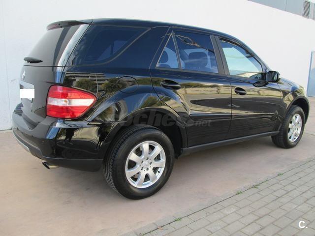 Mercedes Benz Clase M 4x4 Ml 320 Cdi Diesel De Color Negro Negro