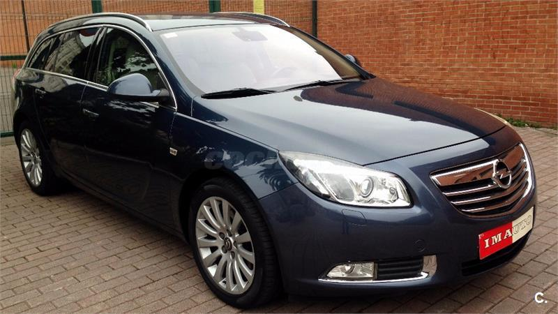 opel insignia sports tourer 2 0 cdti 160 cv cosmo auto diesel azul del 2009 con 76000km en. Black Bedroom Furniture Sets. Home Design Ideas