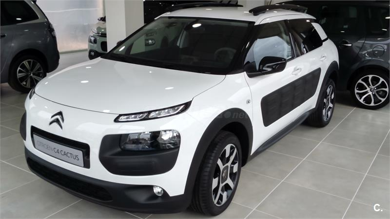 citroen c4 cactus berlina bluehdi 100 feel edition diesel de km0 de color blanco en madrid 32417168. Black Bedroom Furniture Sets. Home Design Ideas