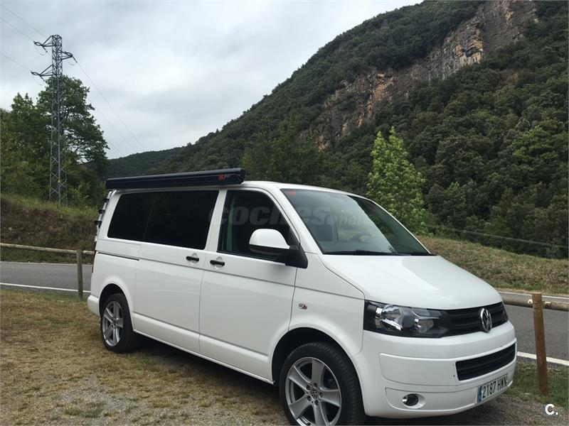 volkswagen transporter kombi pro corto tm 2 0 tdi bmt 114cv diesel blanco del 2014 con 56000km. Black Bedroom Furniture Sets. Home Design Ideas