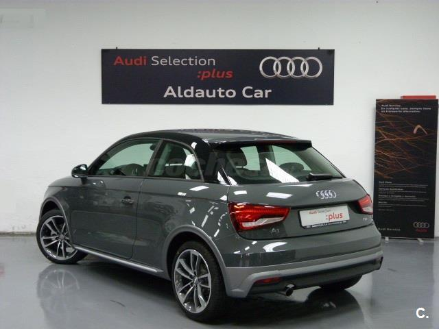 audi a1 1 4 tdi 90cv active kit diesel gris plata gris nano metalizado del 2016 con 99km. Black Bedroom Furniture Sets. Home Design Ideas