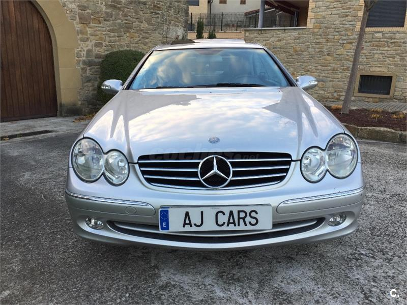 mercedes benz clase clk clk 270 cdi avantgarde diesel gris plata del 2005 con 138000km en. Black Bedroom Furniture Sets. Home Design Ideas