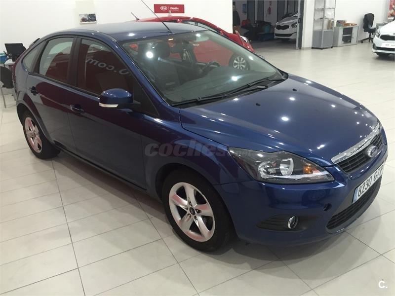 Ford focus 1 6 tdci 109 trend diesel azul del 2010 con for 5 puertas pontevedra