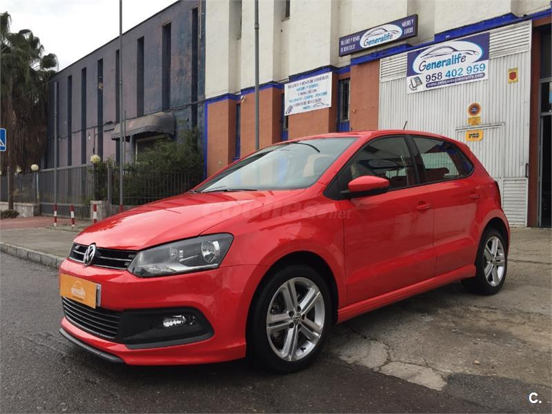 volkswagen polo 1 6 tdi 105cv sport by rline diesel rojo del 2014 con 57000km en granada 32460050. Black Bedroom Furniture Sets. Home Design Ideas