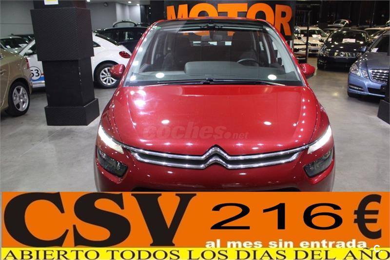 citroen c4 picasso 1 6 hdi 90cv attraction diesel rojo del. Black Bedroom Furniture Sets. Home Design Ideas