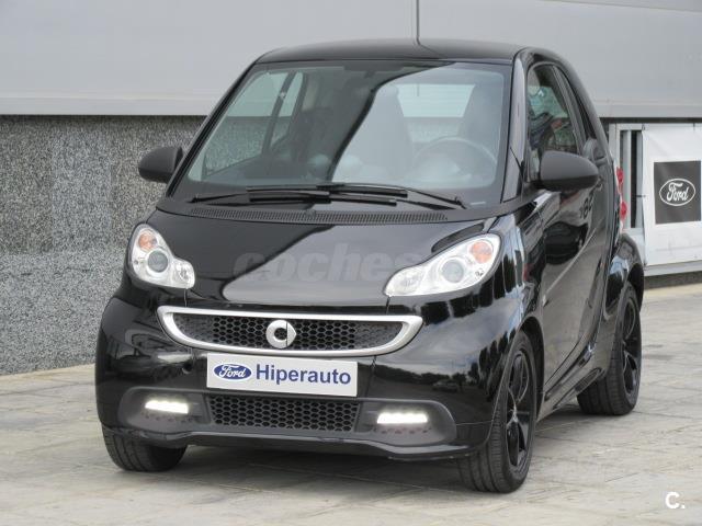 Smart fortwo coupe 52 mhd pulse gasolina negro del 2013 for Smart segunda mano sevilla