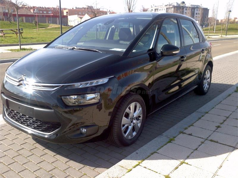 citroen c4 picasso 1 6 ehdi 115cv attraction diesel negro. Black Bedroom Furniture Sets. Home Design Ideas