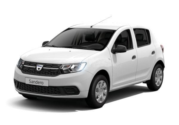 dacia sandero berlina ambiance dci 75 eu6 diesel de km0 de color blanco varios colores en stock. Black Bedroom Furniture Sets. Home Design Ideas