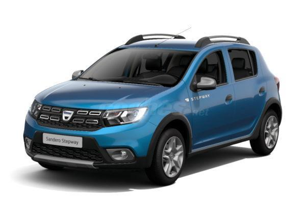 dacia sandero berlina stepway tce 90 eu6 gasolina de km0 de color blanco varios colores en. Black Bedroom Furniture Sets. Home Design Ideas