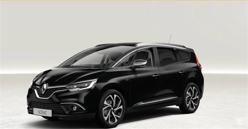 renault grand scenic monovolumen edition one dci 96kw 130cv diesel de km0 de color gris plata. Black Bedroom Furniture Sets. Home Design Ideas