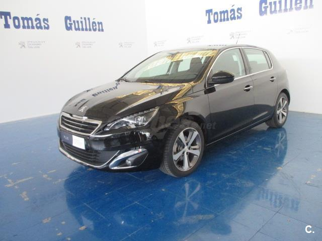 peugeot 308 nuevo 308 allure 1 6 thp 125 gasolina negro del 2014 con 13503km en murcia 32514899. Black Bedroom Furniture Sets. Home Design Ideas