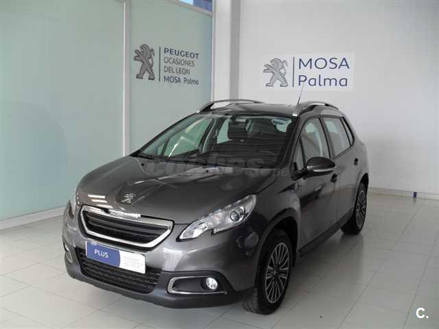 peugeot 2008 style 1 6 bluehdi 100 diesel gris plata del 2016 con 12402km en baleares 32520392. Black Bedroom Furniture Sets. Home Design Ideas