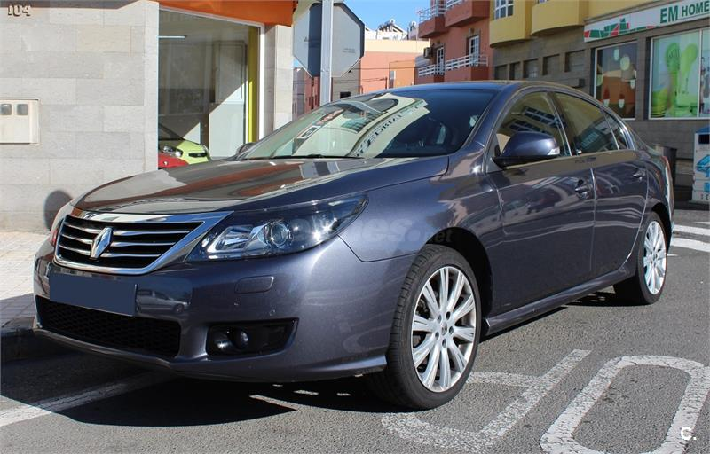 renault latitude initiale dci 175 diesel gris plata gris humo del 2011 con 114000km en las. Black Bedroom Furniture Sets. Home Design Ideas