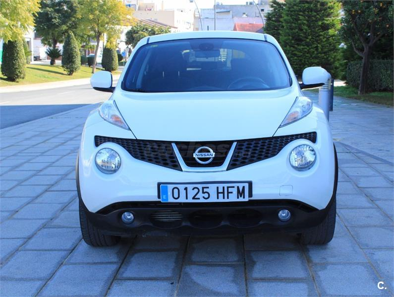 nissan juke 4x4 1 5 dci tekna sport 4x2 diesel de color blanco del a o 2011 con 126333km en. Black Bedroom Furniture Sets. Home Design Ideas