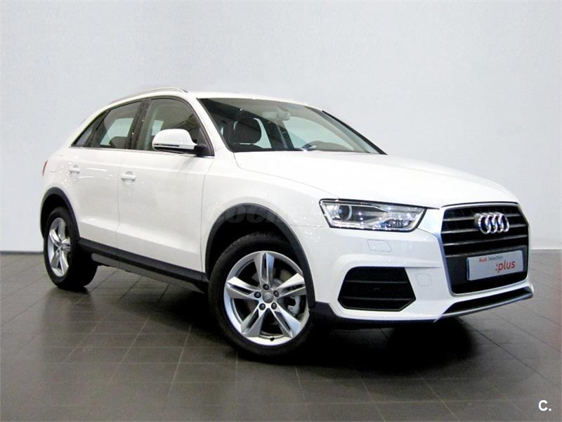 audi q3 4x4 design edition 2 0 tdi 150cv diesel de color blanco cortina del a o 2016 con. Black Bedroom Furniture Sets. Home Design Ideas