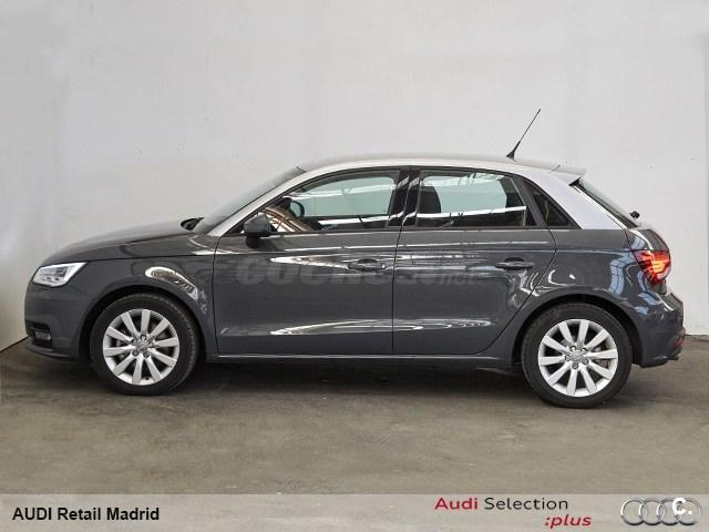 audi a1 sportback 1 4 tfsi 125cv s tro adrenalin gasolina gris plata gris nano del 2016 con. Black Bedroom Furniture Sets. Home Design Ideas