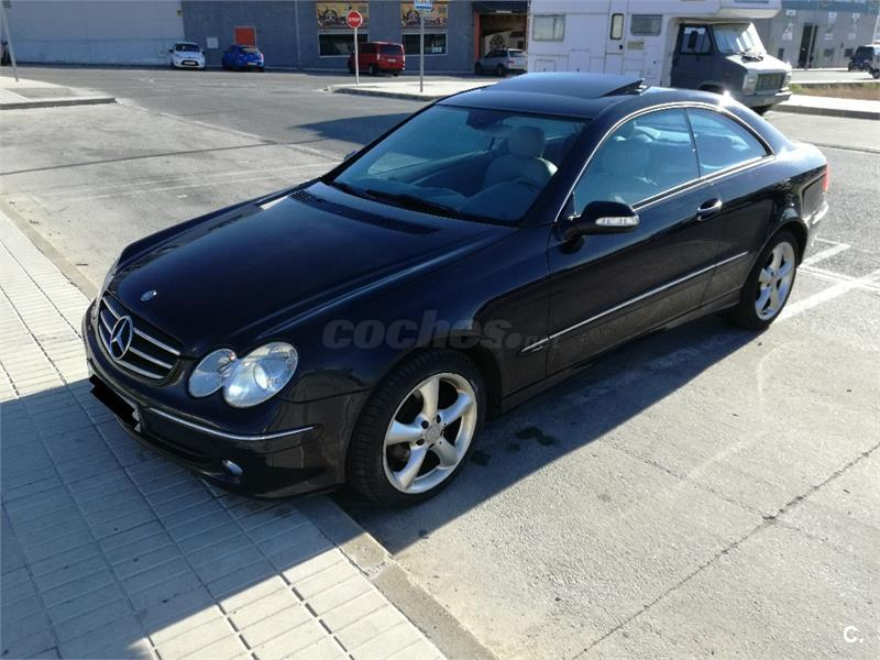 mercedes benz clase clk clk 270 cdi avantgarde diesel azul del 2005 con 175000km en m laga 32529582. Black Bedroom Furniture Sets. Home Design Ideas