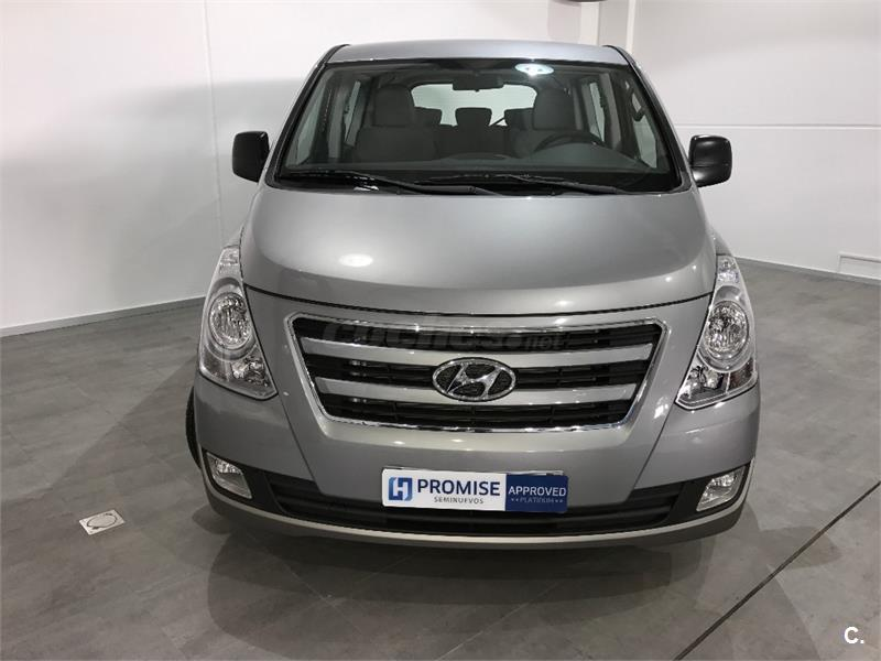 hyundai h1 travel 2 5 crdi 136 cv tecno diesel gris plata hyper metallic silver del 2016 con. Black Bedroom Furniture Sets. Home Design Ideas