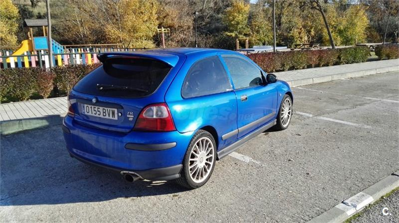 mg zr 1 8 160 gasolina azul del 2003 con 130000km en madrid 32551560. Black Bedroom Furniture Sets. Home Design Ideas