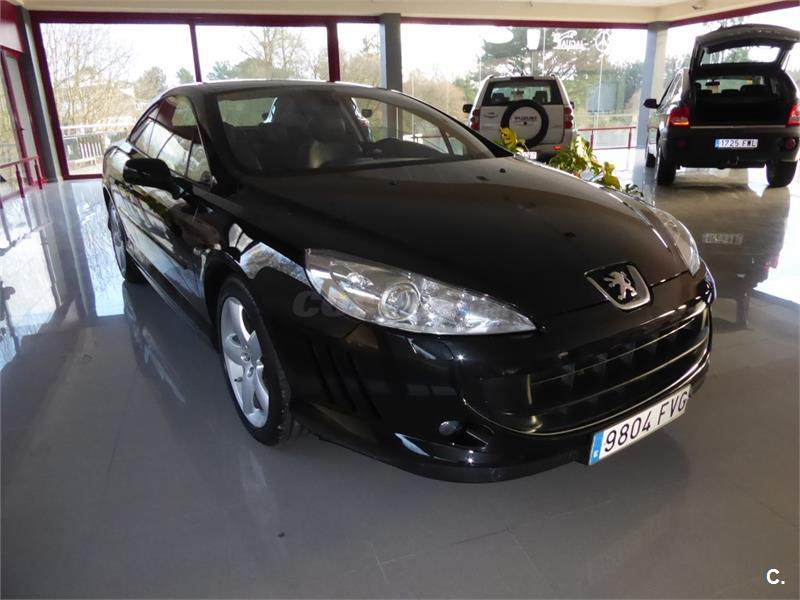 peugeot 407 2 7 v6 hdi 204 automatico coupe diesel negro del 2007 con 128419km en lugo 32558298. Black Bedroom Furniture Sets. Home Design Ideas
