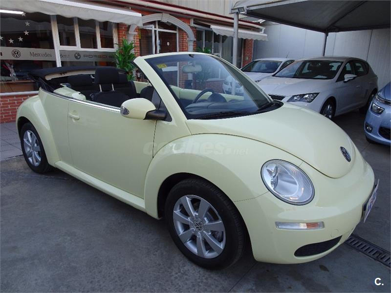 volkswagen new beetle 1 9 tdi cabriolet diesel verde del 2006 con 134587km en m laga 32570560. Black Bedroom Furniture Sets. Home Design Ideas
