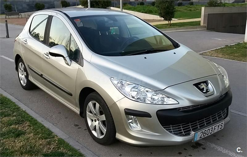 peugeot 308 premium 1 6 hdi 110 fap diesel beige del 2008 con 143000km en barcelona 32577879. Black Bedroom Furniture Sets. Home Design Ideas