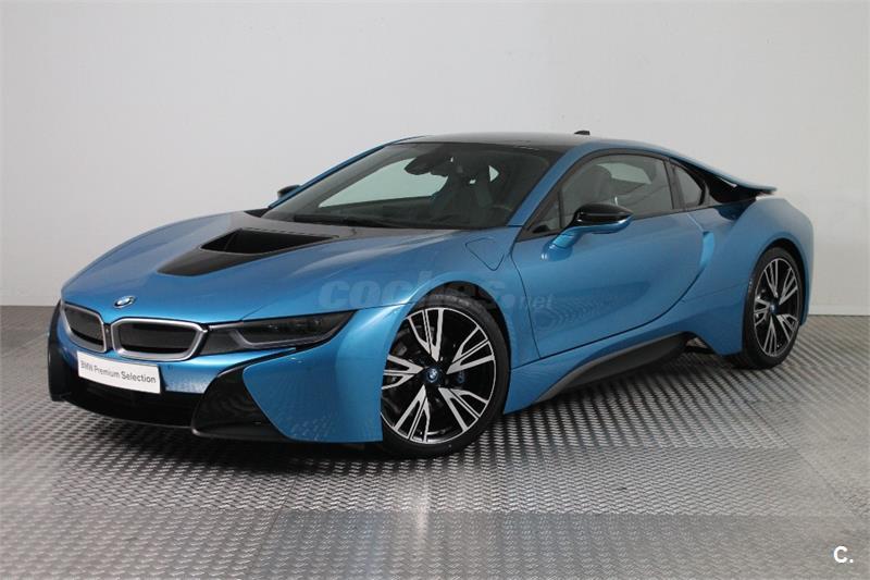 Bmw I8 Electrico Hibrido Azul Azul Protonic Blue Con Detalles