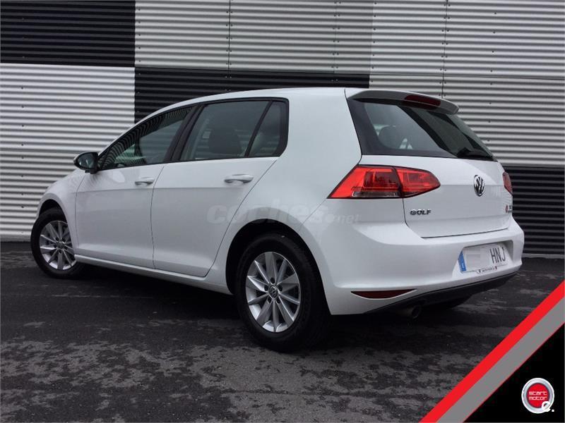Volkswagen golf edition 1 6 tdi 105cv bmt diesel blanco for 5 puertas pontevedra