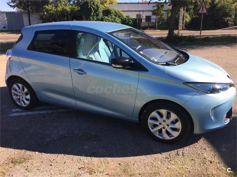 renault zoe zen el ctrico h brido azul del 2015 con 6000km en ciudad real 32586599. Black Bedroom Furniture Sets. Home Design Ideas