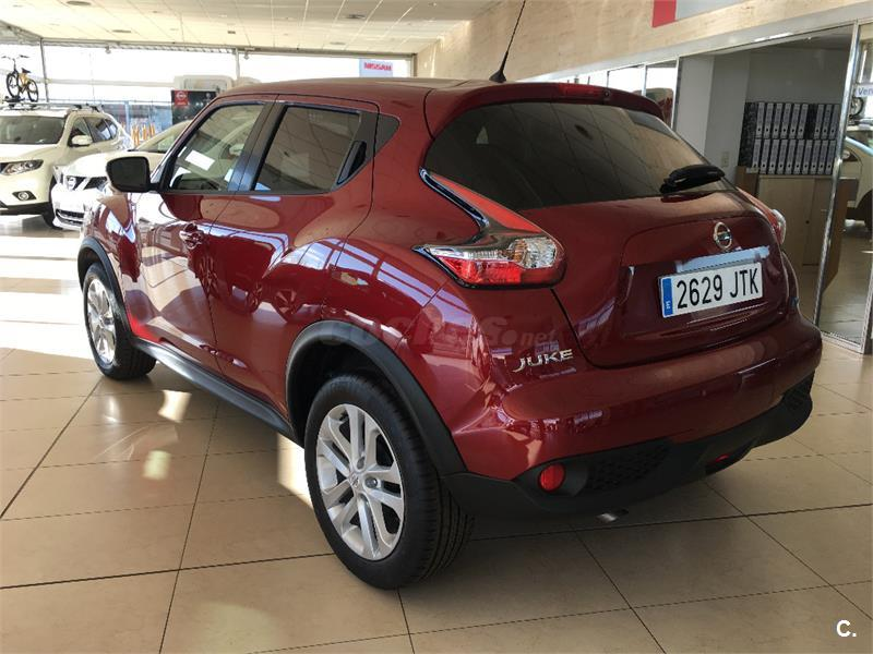 nissan juke 4x4 1 5 dci acenta 4x2 diesel de color granate. Black Bedroom Furniture Sets. Home Design Ideas