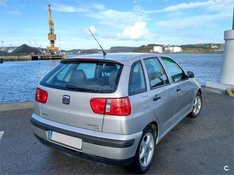 seat ibiza stella diesel gris plata del 2001 con 162690km en asturias 32594467. Black Bedroom Furniture Sets. Home Design Ideas