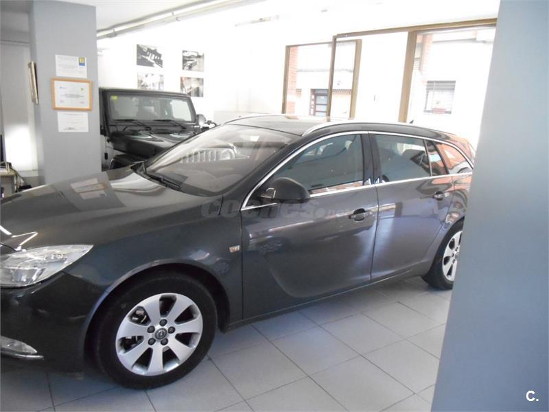 opel insignia sports tourer 2 0 cdti 160 cv sport diesel gris plata del 2009 con 52662km en. Black Bedroom Furniture Sets. Home Design Ideas