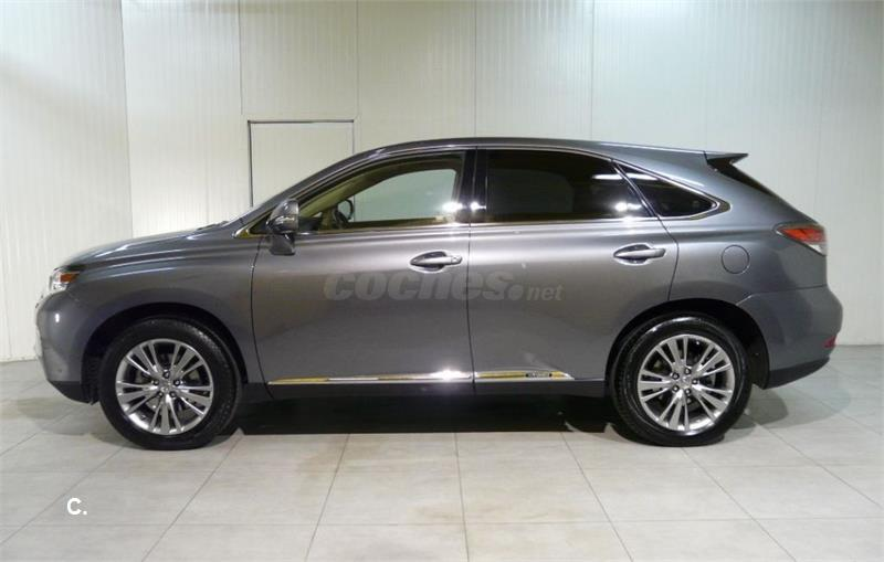 lexus rx 4x4 450h hybrid el ctrico h brido de color gris. Black Bedroom Furniture Sets. Home Design Ideas