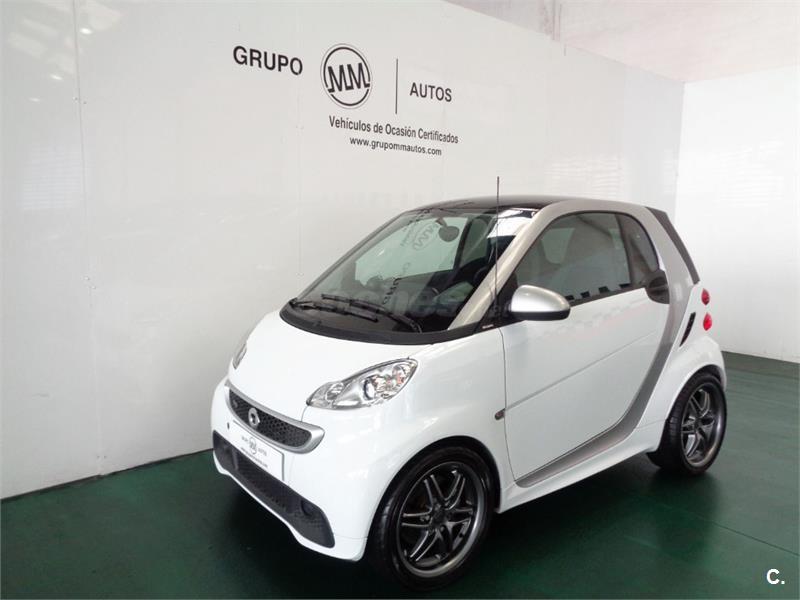 Smart fortwo coupe brabus gasolina blanco del 2012 con for Smart segunda mano sevilla