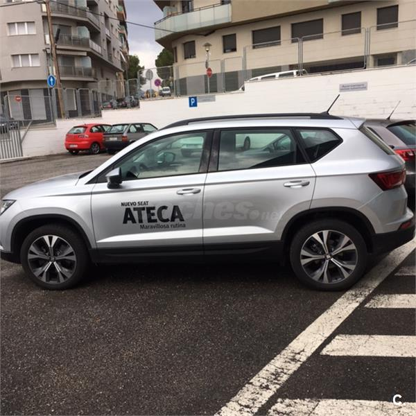 seat ateca 4x4 1 6 tdi 115cv stsp style ecomotive diesel de color gris plata del a o 2016 con. Black Bedroom Furniture Sets. Home Design Ideas