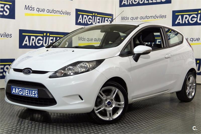 ford fiesta 1 4 tdci trend diesel blanco del 2011 con. Black Bedroom Furniture Sets. Home Design Ideas