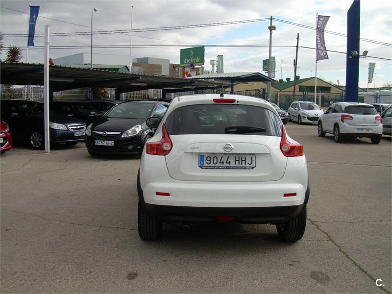 nissan juke 4x4 1 5 dci tekna sport 4x2 diesel de color blanco del a o 2011 con 146558km en. Black Bedroom Furniture Sets. Home Design Ideas