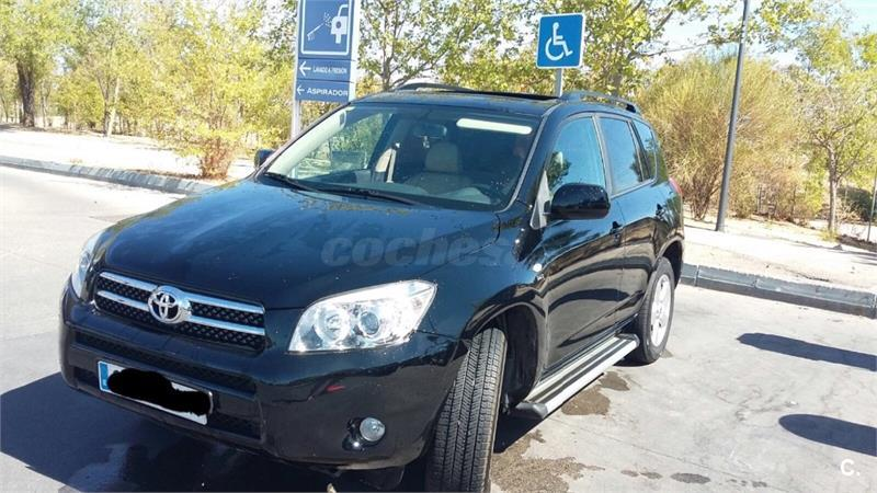 toyota rav4 2 2 d4d 136cv executive diesel negro del 2006 con 195000km en madrid 32618682. Black Bedroom Furniture Sets. Home Design Ideas