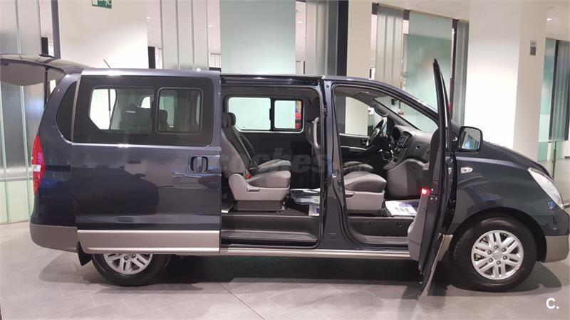 hyundai h1 travel monovolumen 2 5 crdi 100kw 136cv tecno diesel de km0 de color azul en burgos. Black Bedroom Furniture Sets. Home Design Ideas