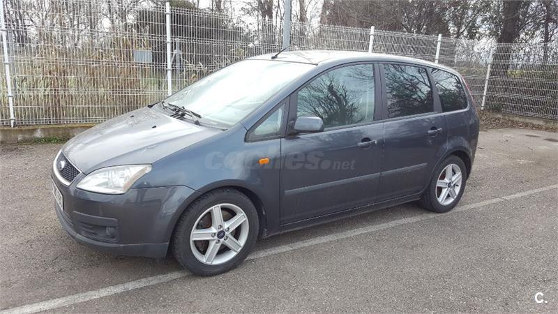ford focus c max 1 8 tdci ghia diesel gris plata del 2006 con 241000km en zaragoza 32628174. Black Bedroom Furniture Sets. Home Design Ideas