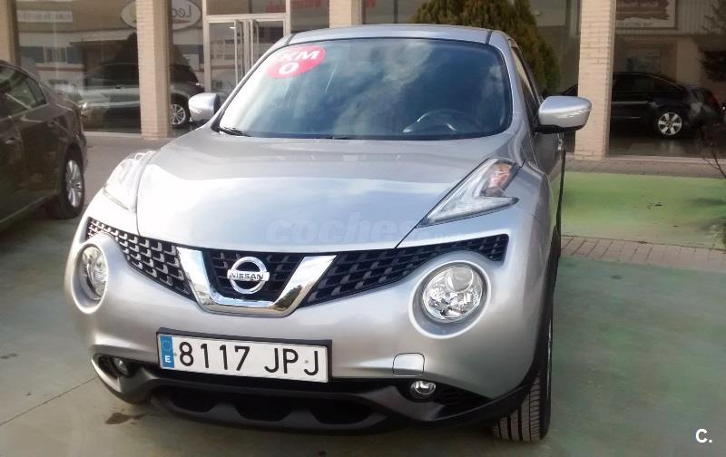 nissan juke 4x4 1 5 dci acenta 4x2 diesel de color gris plata plata diamante del a o 2016. Black Bedroom Furniture Sets. Home Design Ideas