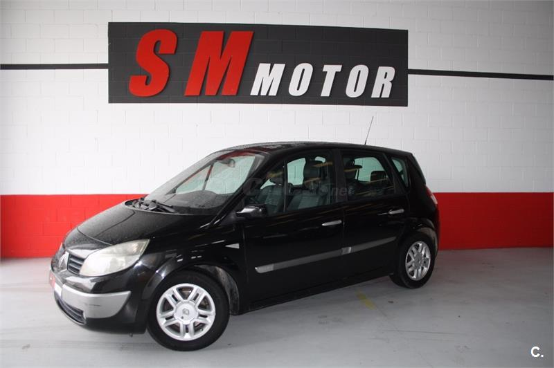 renault scenic luxe privilege diesel negro del 2005 con 234000km en zaragoza 32630796. Black Bedroom Furniture Sets. Home Design Ideas