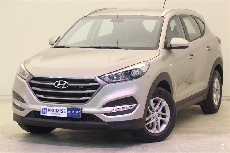 hyundai tucson 4x4 1 6 gdi bluedrive essence 4x2 gasolina de color gris plata del a o 2016 con. Black Bedroom Furniture Sets. Home Design Ideas