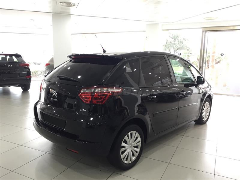 citroen c4 picasso 1 6 hdi tonic diesel negro del 2012 con. Black Bedroom Furniture Sets. Home Design Ideas