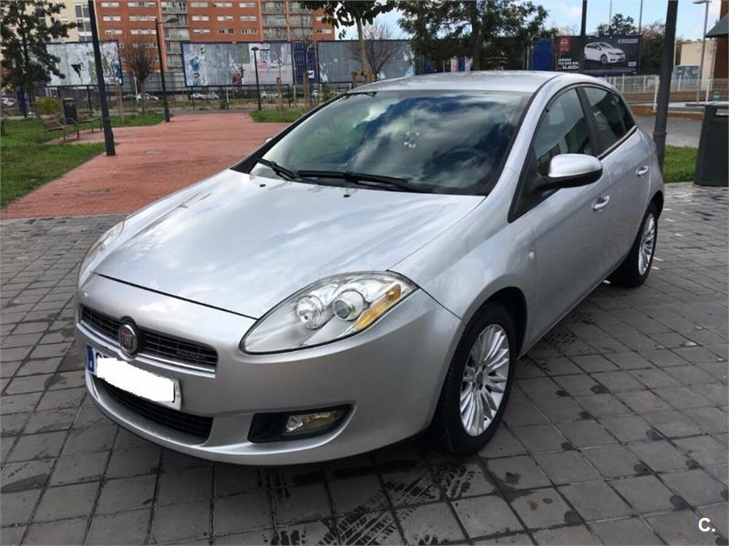 fiat bravo 1 9 multijet 120 cv emotion diesel gris plata del 2008 con 129000km en valencia. Black Bedroom Furniture Sets. Home Design Ideas