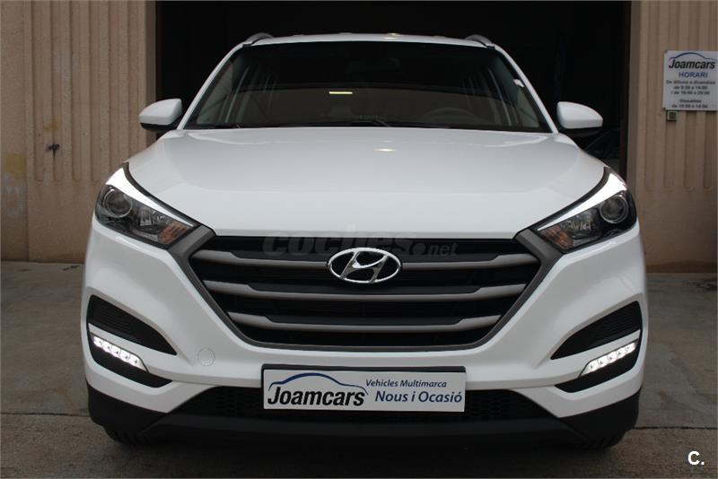 hyundai tucson 4x4 1 6 gdi bluedrive essence 4x2 gasolina de color blanco del a o 2016 con 9km. Black Bedroom Furniture Sets. Home Design Ideas