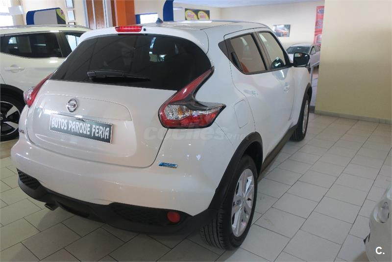 nissan juke 4x4 1 5 dci nconnecta 4x2 diesel de color blanco del a o 2016 con 18000km en m laga. Black Bedroom Furniture Sets. Home Design Ideas