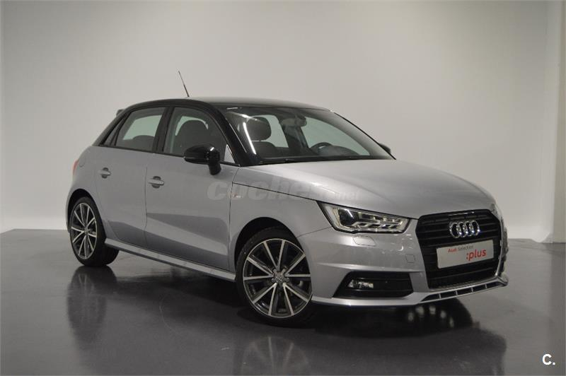 audi a1 sportback 1 4 tdi 90 ultra str adrenalin diesel gris plata techo negro del 2016 con. Black Bedroom Furniture Sets. Home Design Ideas