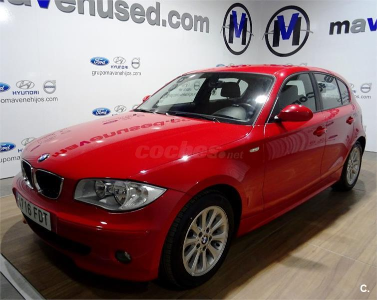 bmw serie 1 118d diesel rojo del 2006 con 183800km en badajoz 32653685. Black Bedroom Furniture Sets. Home Design Ideas
