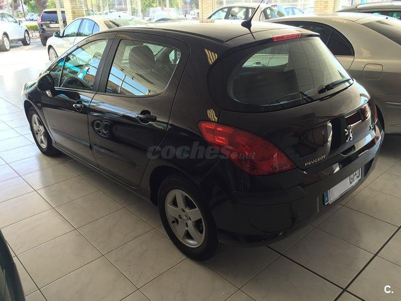 peugeot 308 confort 1 6 hdi 90 diesel negro del 2009 con 98600km en navarra 32653857. Black Bedroom Furniture Sets. Home Design Ideas